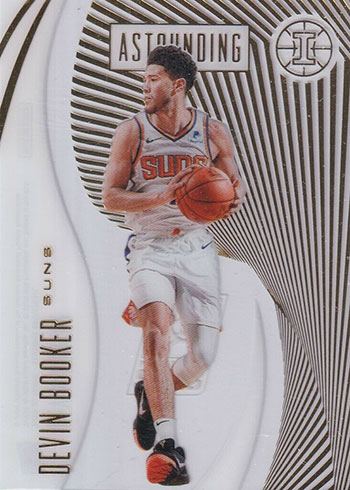 2019-20 Panini Illusions Basketball Astounding Devin Booker