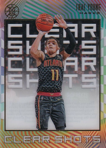 2019-20 Panini Illusions Basketball Clear Shots Trae Young