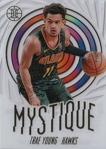 2019-20 Panini Illusions Basketball Mystique Trae Young