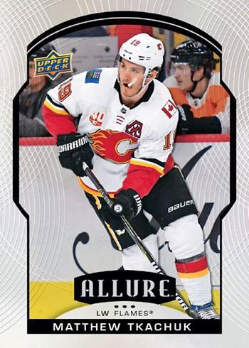2020-21 Upper Deck Allure Hockey Matthew Tkachuk
