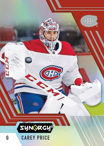2020-21 Upper Deck Synergy Hockey Red