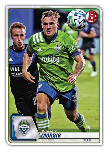 2020 Bowman MLS Jordan Morris