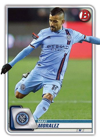2020 Bowman MLS Maxi Moralez