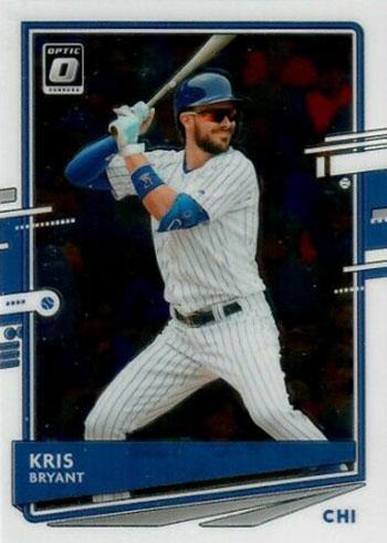 2020 Donruss Optic Baseball Kris Bryant