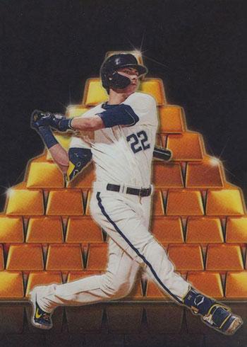 2020 Donruss Optic Baseball Fort Knox Christian Yelich