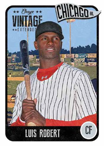 2020 Onyx Vintage Extended Baseball Luis Robert