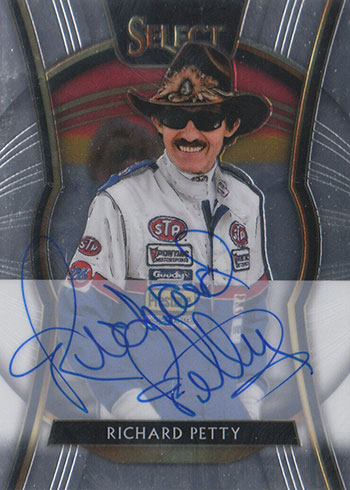 2020 Panini Chronicles Racing Select Autographs Richard Petty