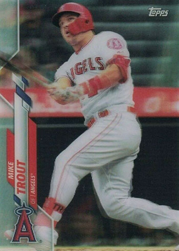 2020 Topps 3D Baseball Mike Trout