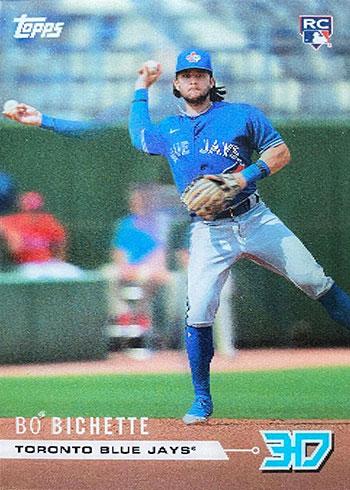 2020 Topps 3D Baseball Rookie Class Motion Bo Bichette