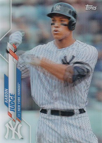 2020 Topps 3D Baseball Variations Aaron Judge