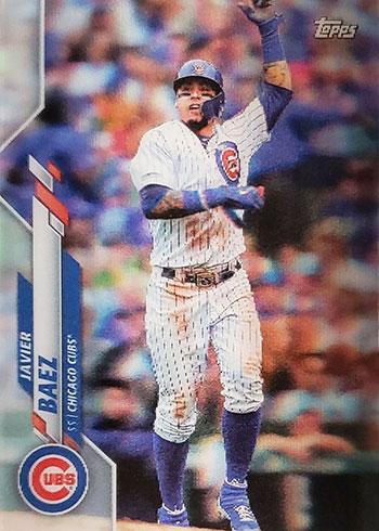 2020 Topps 3D Baseball Variations Javier Baez