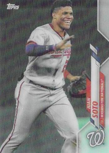 2020 Topps 3D Baseball Variations Juan Soto