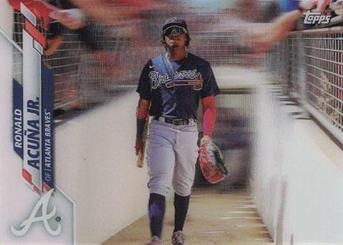 2020 Topps 3D Baseball Variations Ronald Acuna Jr.