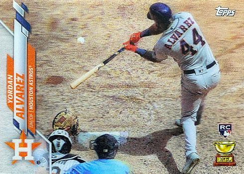 2020 Topps 3D Baseball Variations Yordan Alvarez