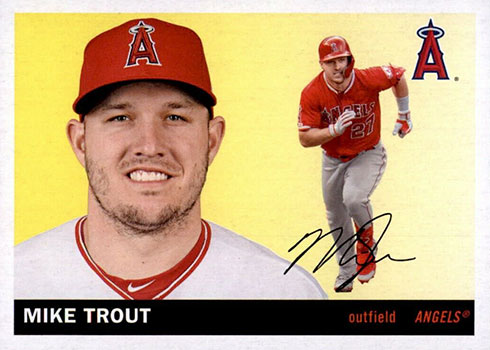 2020 Topps Archives Baseball Mike Trout