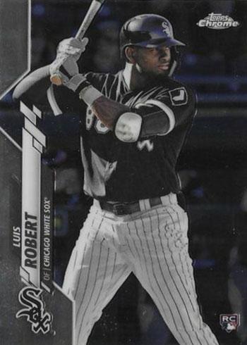 2020 Topps Chrome Baseball Luis Robert Rookie Card