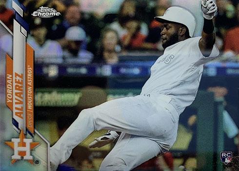 2020 Topps Chrome Baseball Variations Yordan Alvarez