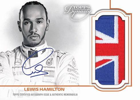 2020 Topps Formula 1 Dynasty Autograph Flag Patch