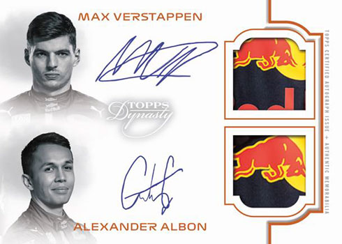 2020 Topps Formula 1 Dynasty Dual Patch Autograph