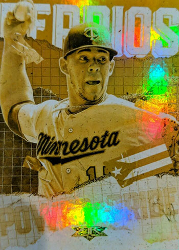 2020 Topps Fire Baseball Power and Pride Gold Minted Jose Berrios
