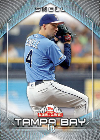 2020 Topps National Baseball Card Day Blake Snell