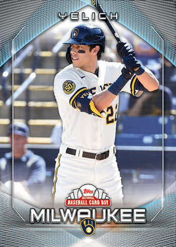 2020 Topps National Baseball Card Day Ryan Braun