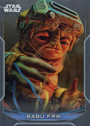2020 Topps Chrome Perspectives Babu Frik