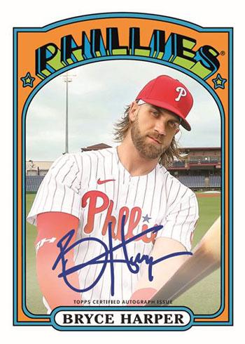 2020 Topps Transcendent Baseball Bryce Harper Through the Year Autographs