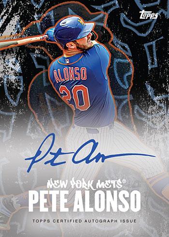 2020 Topps x Pete Alonso Autograph