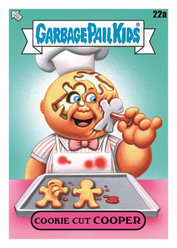 2021 Topps Garbage Pail Kids Food Fight Cookie Cutter Cooper