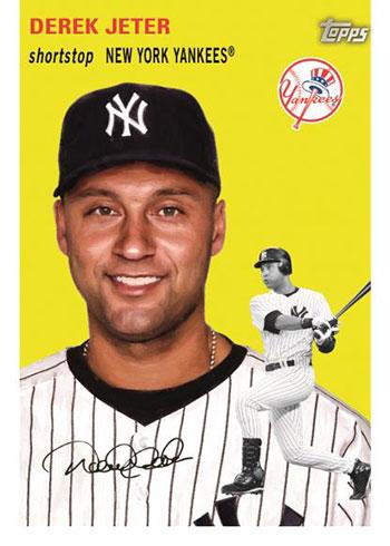 2021 Topps Series 1 Baseball 70 Years of Topps Baseball Derek Jeter