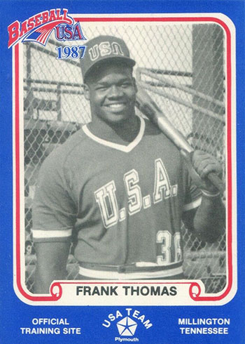 1987 Pan Am Team USA Blue Frank Thomas