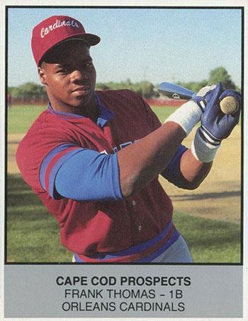 1988 Cape Cod Prospects Ballpark Frank Thomas