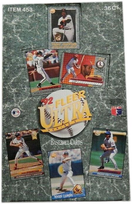1992 Fleer Ultra Series 1 Baseball Box