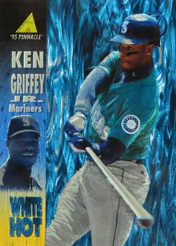 1995 Pinnacle White Hot Ken Griffey Jr.