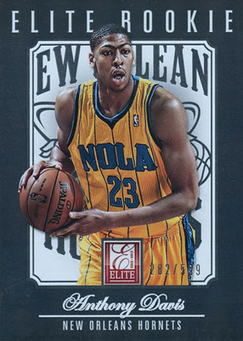 2012-13 Elite Anthony Davis Rookie Card