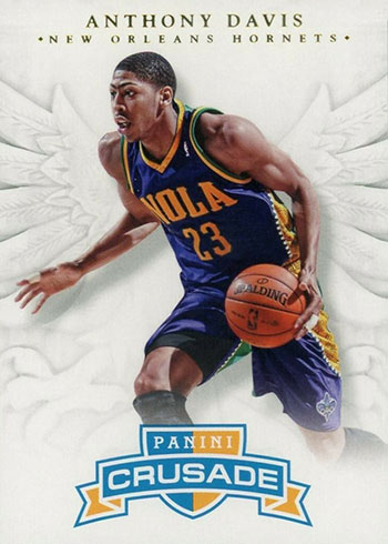 2012-13 Panini Crusade Anthony Davis Rookie Card