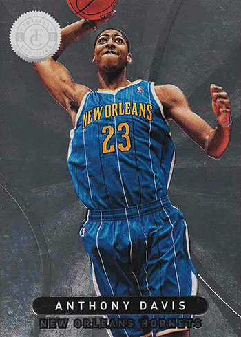2012-13 Totally Certified Anthony Davis RC