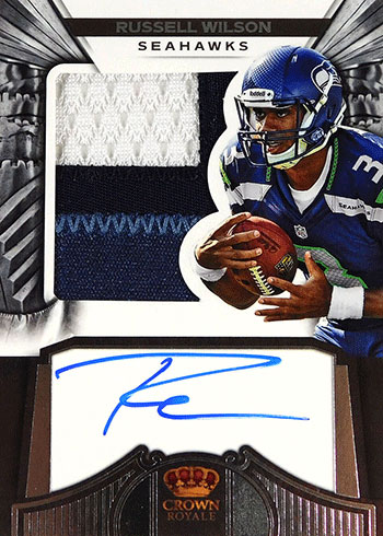 2012 Panini Crown Royale Russell Wilson Rookie Card