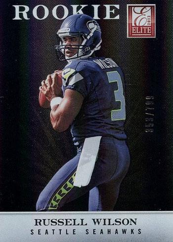 2012 Elite Russell Wilson Rookie Card