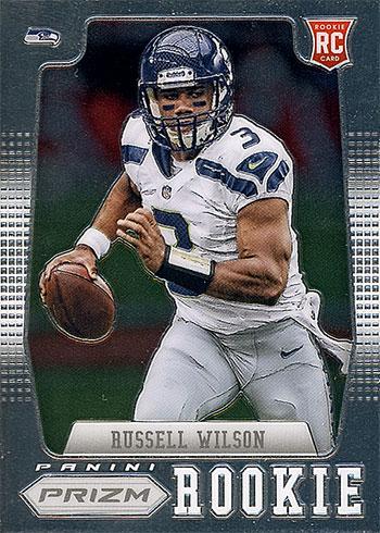 2012 Panini Prizm Russell Wilson Rookie Card