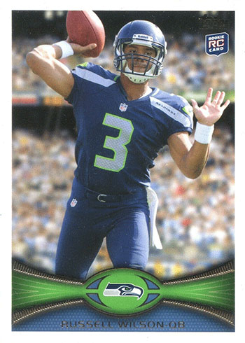 2012 Topps Russell Wilson Rookie Card
