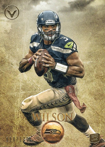 2012 Topps Valor Russell Wilson Rookie Card
