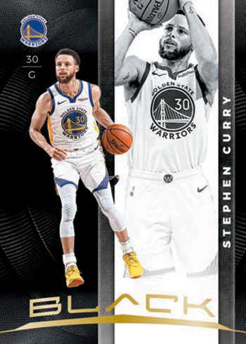 2019-20 Panini Black Basketball Gold