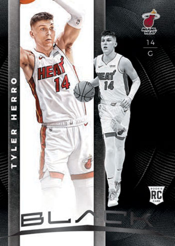 2019-20 Panini Black Basketball Rookie Variation