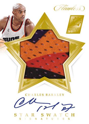 2019-20 Panini Flawless Basketball Star Swatch Signatures