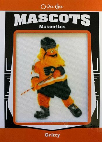 2020-21 O-Pee-Chee Hockey Patches Gritty