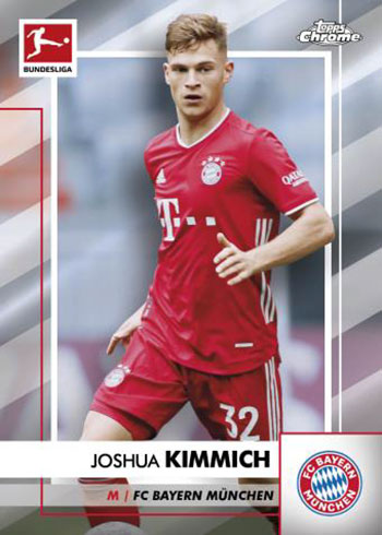 2020-21 Topps Chrome Bundesliga Soccer Base