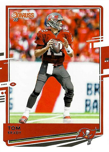 2020 Donruss Football Tom Brady