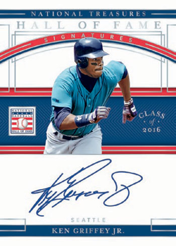 2020 Panini National Treasures Baseball Hall of Fame Signatures